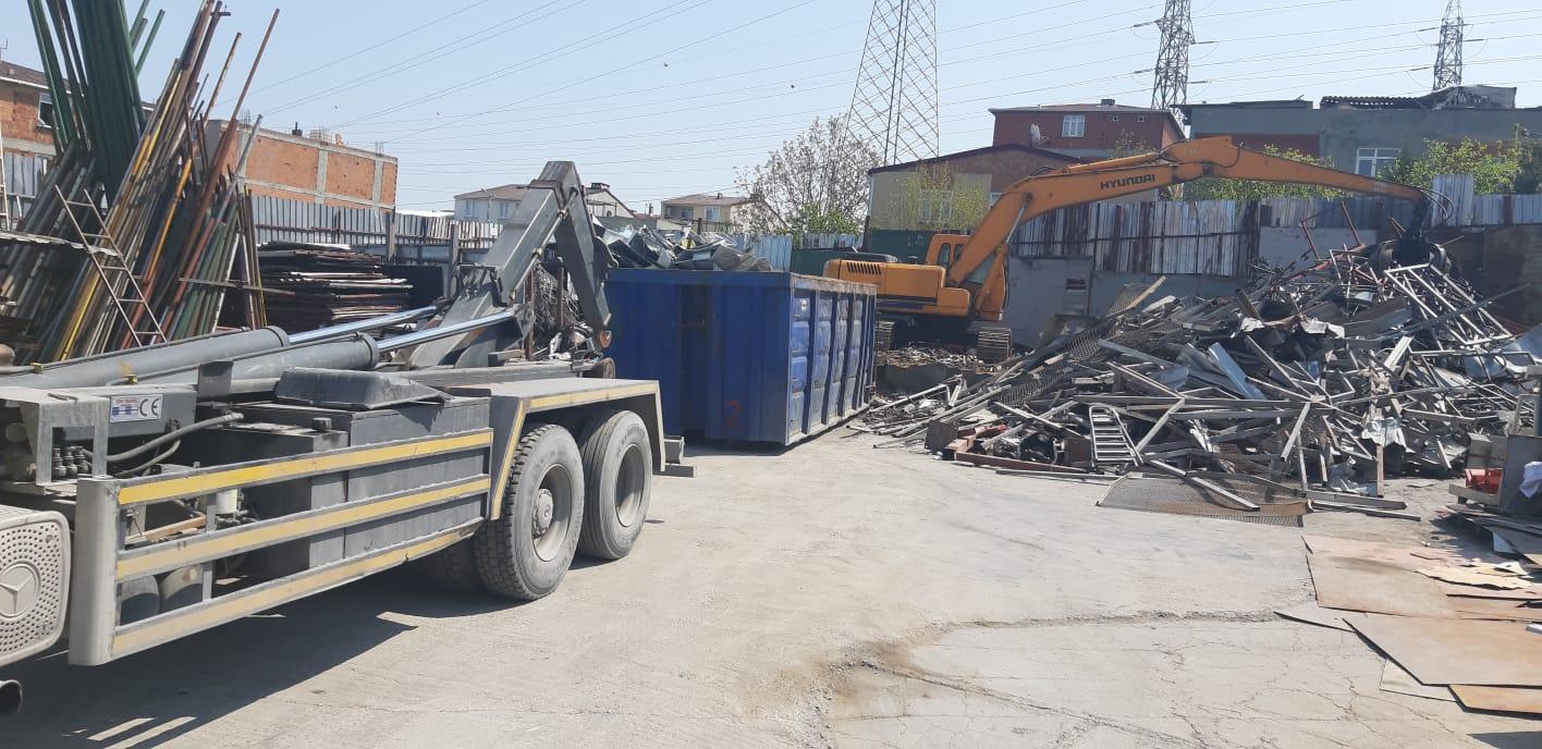 İstanbul'da Hurda Fabrikaları